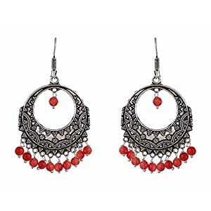 Indian Bollywood Ethnic Oxidised Silver Plated Fancy Party