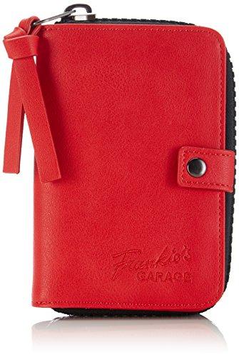 Frankie's Garage - Karina, Portafoglio Donna Rosso (Rot (red 040))