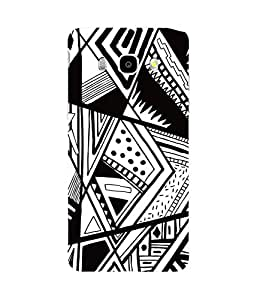 Black And White Samsung Galaxy J7 Case