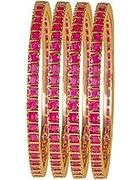 6b475547897 AFJ Gold 1 Gram Micro Gold Plated Traditional Fashion Jewellery Designer  Ruby Emerald CZ American Diamond