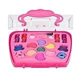 Beauty Makeup Palette Set, Princess Girl's Pretend Play Spielzeug Deluxe Makeup Palette Set NON TOXIC für Kinder Geschenk (A)