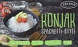 Solano Konjaknudel im 5er-Set I Konjak-Spaghetti aus Konjakmehl I Low Carb Pasta I die Shirataki Nudeln sind vegan, fettfrei, glutenfrei, kalorienarm I eignen sich perfekt für Diäten