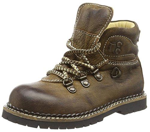 (Spieth & Wensky Unisex-Kinder 313 K Stiefel Seppl leicht Combat Boots, Braun (Rustik 9539), 29 EU)