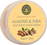 #2: SolaceDeArtisan NON STICKY COLD CREAM - Shea Butter & Almond Oil- Super Moisturizing & Healing - Premium Handcrafted from 100% Natural Butters, Skin Lightening & Natural Ingredients (50g) (No Mineral Oil & Parabens)