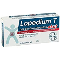 Preisvergleich für Lopedium T akut, 10 St. Tabletten