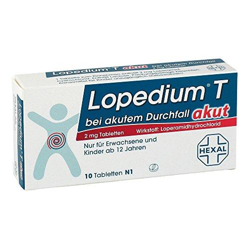 Lopedium T akut bei akutem Durchfall, 10