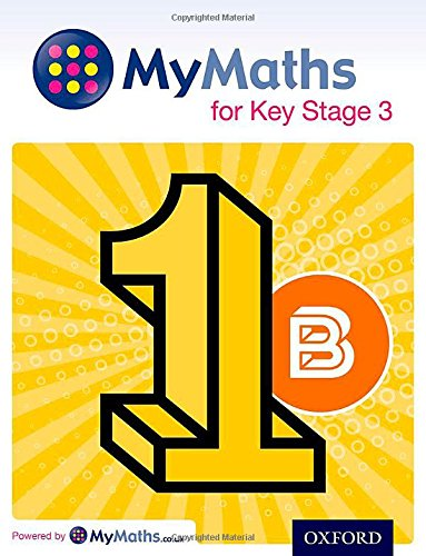 MyMaths for Key Stage 3: Student Book 1B par David Capewell