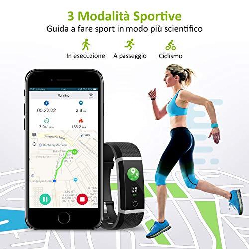 Zoom IMG-3 mpow fitness tracker ip67 schermo