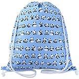 Kids Panda Swim Bag Drawstring Backpack PE Bag
