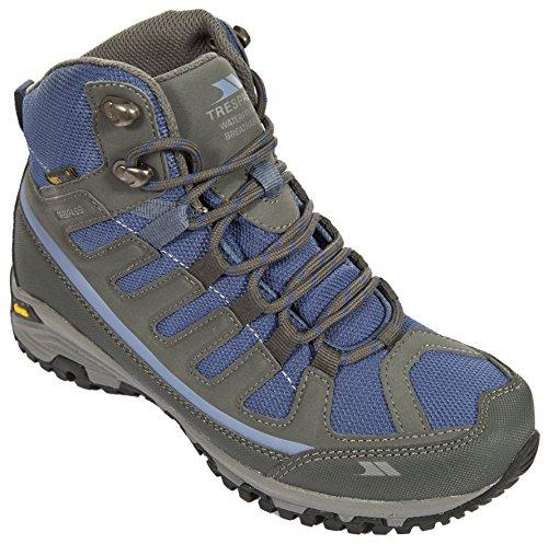 Trespass Tensing, Climbing Shoes Mujeres Gris (acero / Azul Hielo)