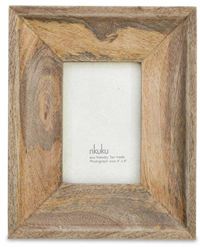 Natural Brown Habibi Mango Wood Photo Frame 8x10 By Nkuku