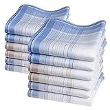 Mouchoirs quotidiens 'Lewis' - 12 unités de 40cm x 40cm