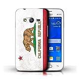Stuff4 Coque de Coque pour Samsung Galaxy Trend 2 Lite/G318 / Californie...