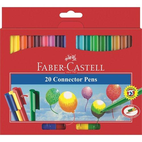 Faber-Castell Connector Pen Filzstifte, 20er [Spielzeug]
