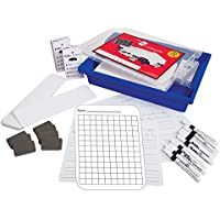 Spaceright Europe 99041G Show N Tell Class Pack Squares Flexible Board