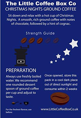 Christmas Nights Flavoured Ground Coffee 250g