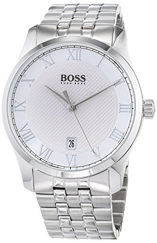 Hugo BOSS Unisex-Adult Analogue Classic Quartz Watch with Stainless Steel Strap 1513589