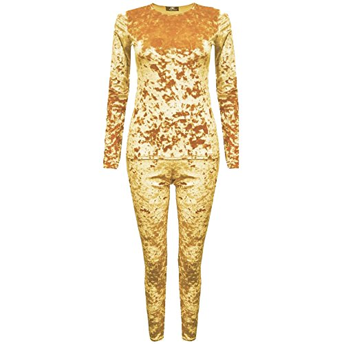 JAVOX Fashion's -  Tuta da ginnastica  - Donna Gold