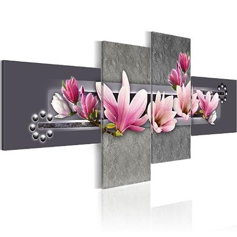 murando Impression sur toile 100x43 cm - 4 pieces -