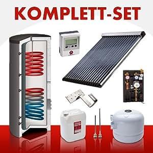 solar komplettset warmwasser heizunng solarthermie 2943 wpeak ab 5 12m volle bafa f rderung. Black Bedroom Furniture Sets. Home Design Ideas