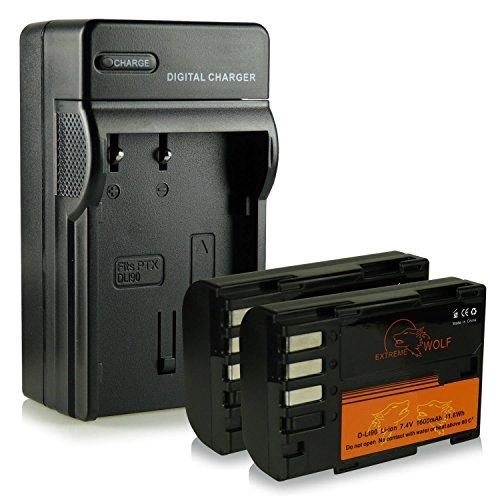 caricatore-2x-extremewolf-batteria-d-li90-per-pentax-645d-k-01-k-3-k-3-ii-k-5-k-5-ii-k-5-iis-k-7