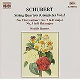 Schubert: String Quartets (Complete), Vol. 3