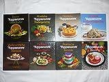 9 x Tupperware : 1. Weihnachtliche Bäckerei , 2. Schmackhafte Suppen & Eintöpfe , 3. Herrliche Kuchen und Torten , 4. Feine Desserts , 5. Praktische Rezepte , 6. Köstliche Nudelgerichte , 7. Deutsche Schlemmergerichte , 8. Delikate Vollwertküche , 9. Feines Salat-Buffet