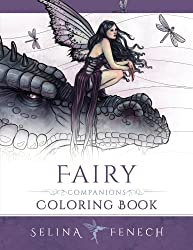 Fairy Companions Coloring Book - Fairy Romance, Dragons and Fairy Pets: Volume 4 (Fantasy Art Coloring by Selina)