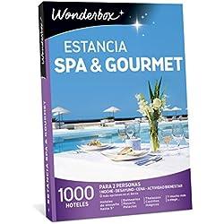 WONDERBOX Caja Regalo -Estancia SPA & Gourmet- 1.000 hoteles para Dos Personas