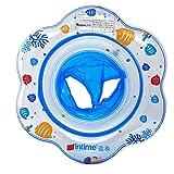 【Colore casuale】moinkerin bambini bambino gonfiabile Anello di nuoto Lap Sedile pneumatico galleggiante flipper (1-5 anni)