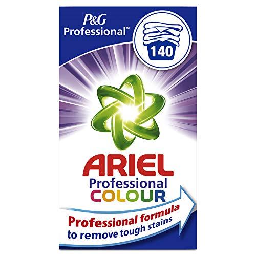 Ariel Professional Colorwaschmittel Pulver, 9,1 kg, 1er Pack (1 x 140 Waschladungen) -
