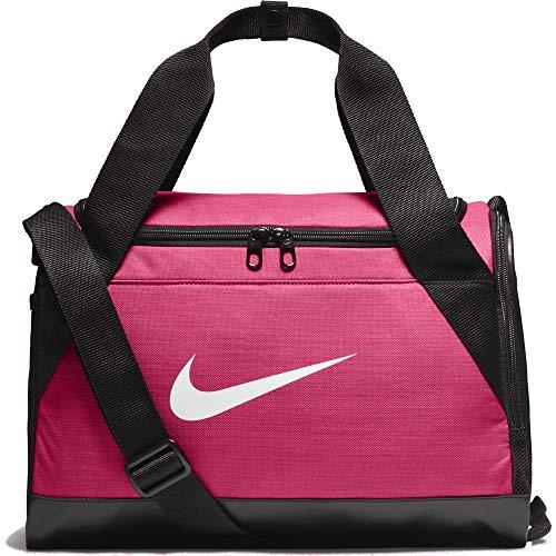 Nike BA5432 - Bolsa de deporte, Multicolor (Rosa Enérgico/Negro/Blanco)