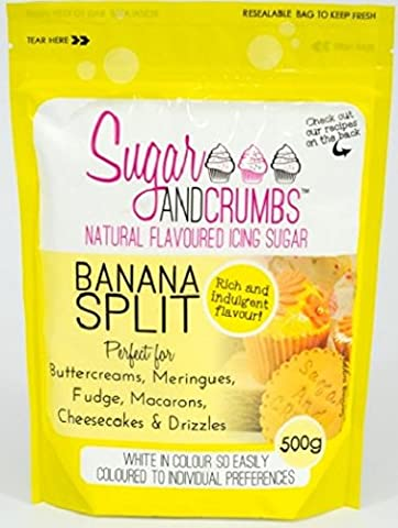 Banana Split Natural Flavoured Icing Sugar for Cakes and Bakes