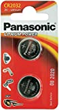 Panasonic Specialist Lithium Coin Batteries CR2032L x 2