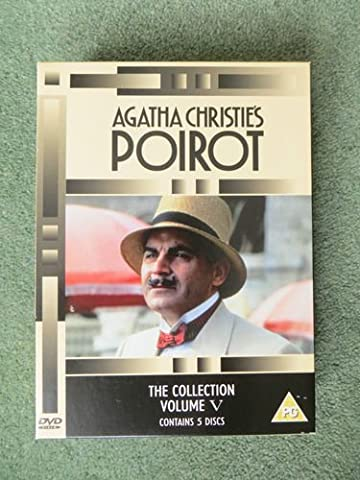 agatha christies poirot the collection volume 5 contains 5 discs