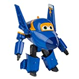 Super Wings - Jerome, personaje transformable, 15 cm, color azul y amarillo (ColorBaby 75874)