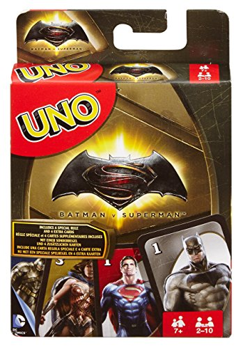 - UNO Batman v Superman, Kartenspiel ()