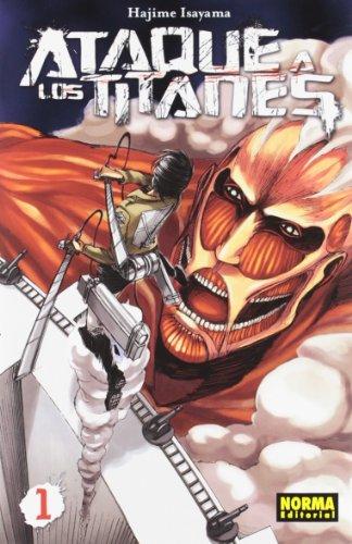 Ataque a los Titanes 1 (CÓMIC MANGA)