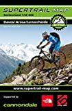 Supertrail Map Davos / Arosa / Lenzerheide: Maßstab 1:50 000