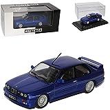 Whitebox BMW 3er E30 Coupe Blau Alpina B6 3.5 S 1982-1994 1/43 Modell Auto mit individiuellem Wunschkennzeichen