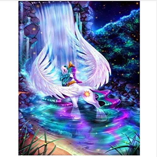 Diamond Painting 3D DIY Full Square Hand Made Diamond Embroidery Painting Cross Stitch Kits Wall Mosaic My Little Pony Home Decor Gift 40X50CM