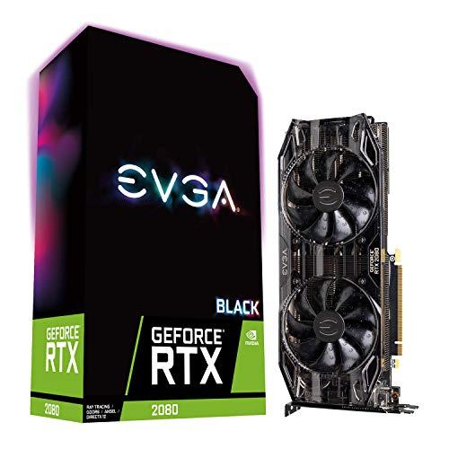 EVGA 08G-P4-2081-KR - Tarjeta gráfica (GeForce RTX 2080, 8 GB, GDDR6, 256 bit, 7680 x 4320 Pixeles, PCI Express 3.0)