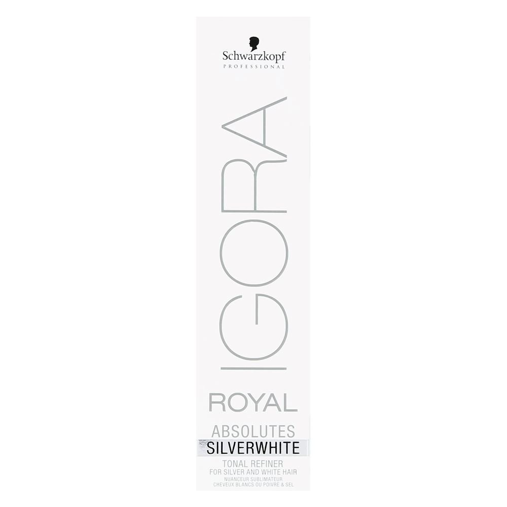 Schwarzkopf Professional Igora Royal Absolutes Tinte para el Cabello, Color Plateado, 60 ml