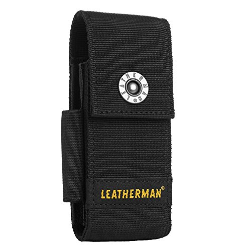 Leatherman NYLON SHEATH LARGE Fodero in nylon per tools OHT, Super Tool, Surge e altri, Nero