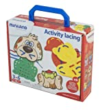 Miniland - Activity Lacing en maleta (95281)