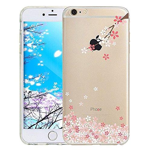 00c85743e985ff iPhone 8 Plus / 7 Plus 5.5 Zoll Hülle Transparente TPU Silikon Bumper Case  Soft Gel