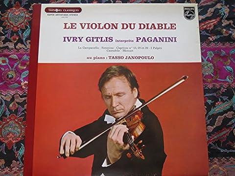 Ivry Gitlis - Le Violon du Diable Gittis interprete Paganini.