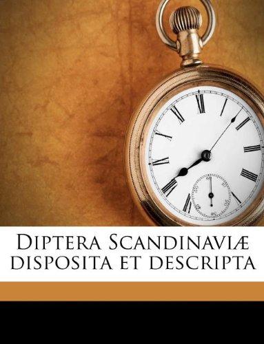 Diptera Scandinaviæ disposita et descripta