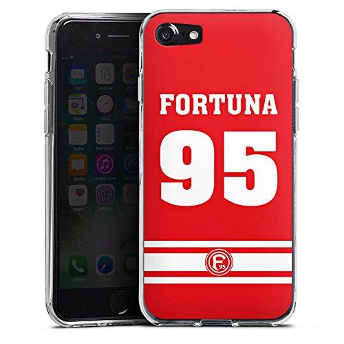 Apple iPhone X Silikon Hülle Case Schutzhülle Fortuna Düsseldorf Fanartikel Fortuna F95 Silikon Case transparent