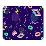 Best Mouse Pad 80s Musics - HOTNING Gaming Mouse Pad Yellow Game Retro Eighties Review